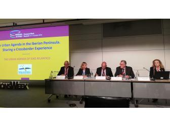 Alfredo García en Bruxelas no marco da Semana Europea das Rexións e Cidades