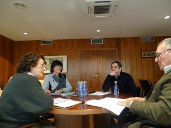 xuntanza da directiva da Fegamp coa directiva de DMD-Galicia