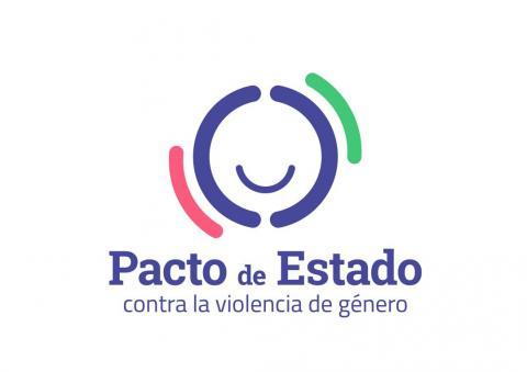 Logo Pacto de estado violencia de xénero