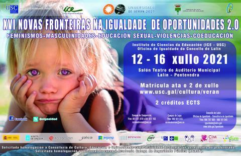 XVI NOVAS FRONTEIRAS NA IGUALDADE DE OPORTUNIDADES 2.0:   FEMINISMOS-MASCULINIDADES-EDUCACIÓN SEXUAL-VIOLENCIAS-COEDUCACIÓN