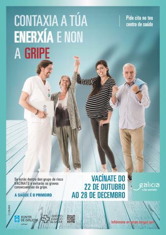 Cartel Campaña Gripe 2018