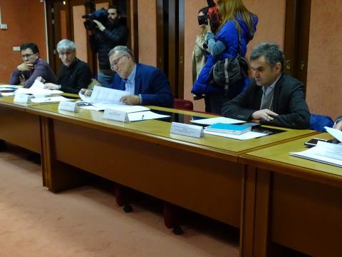 o presidente da Fegamp no Consello Reitor de Augas de Galicia