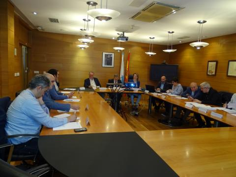 Reunión mesa polas emerxencias de Galicia xuño 2018