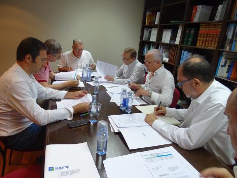 Xunta de voceiros da Fegamp xullo 2018