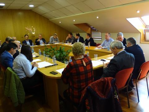 REunión comisión executiva da Fegamp marzo 2019