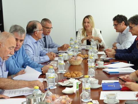 reunión da Comisión de Seguimento dos GES setembro 2019