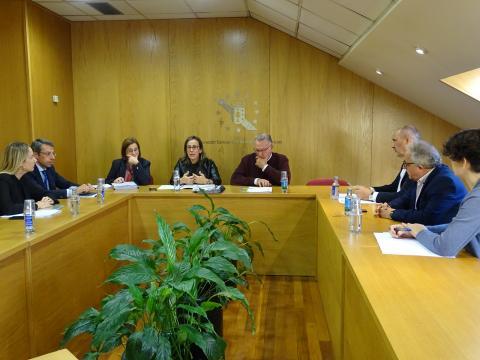 reunión presentación SOGAMA Da Auga